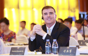 Dr. Frederick F. Buechel, Jr. at the 2017 International Congress of Chinese Orthopaedic Association